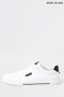 River Island White Prolific Trainers