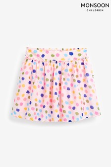 Monsoon Pink Naomi Splodge Skirt