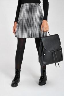 Check Kilt Skirt