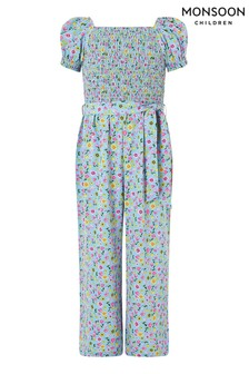 Monsoon Blue Hester Ditsy Jumpsuit