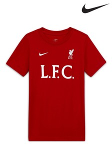 Nike Red Liverpool FC T-Shirt