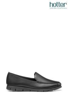 Hotter Bend Slip-On Flat Shoes