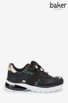 Baker by Ted Baker Floral Lace-Up Trainers
