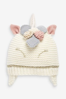 Unicorn Trapper Hat (Younger)