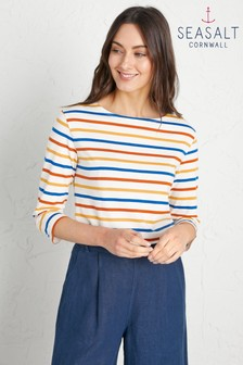 Seasalt Yellow Sailor Top