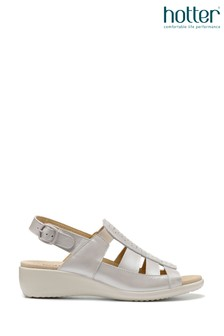 Hotter Roma Buckle Fastening Open Sandals