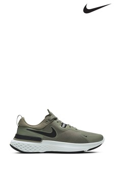 Nike React Grey/White Miler Trainers