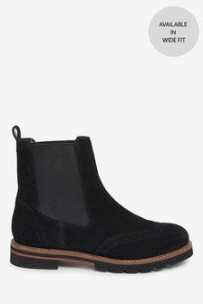 Forever Comfort® Brogue Chelsea Ankle Boots