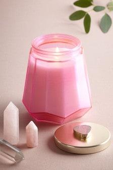 Pink Quartz Candle