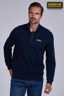 Barbour® International Half Zip Sweater
