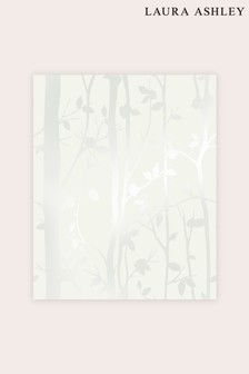 Laura Ashley Cottonwood Pearlescent Wallpaper Sample