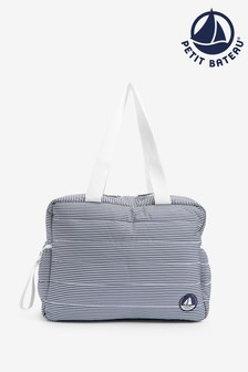 Petit Bateau Navy Stripe Changing Bag