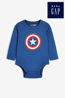 Gap Baby Captain America Sleepsuit