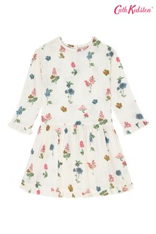 Cath Kidston® White Twilight Sprig Dress
