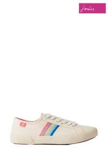 Joules White Coast Pump Trainers