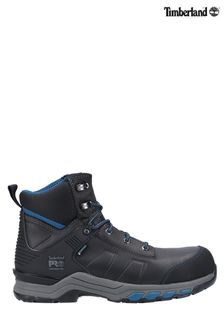 Timberland® Pro Black Hypercharge Composite Safety Toe Work Boots