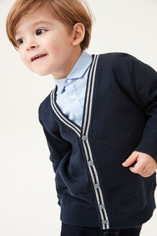 Tipped Cardigan (3mths-7yrs)