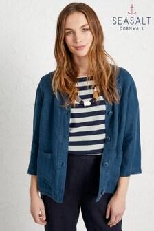 Seasalt Blue Bullfinch Jacket