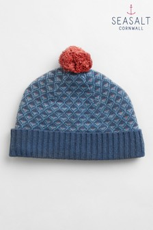 Seasalt Navy Cherry Tree Hat