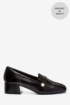 Low Block Hardware Loafers