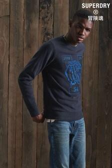 Superdry Vintage Appliqué Crew Sweatshirt