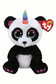 Ty Paris Panda With Horn Boo Buddy