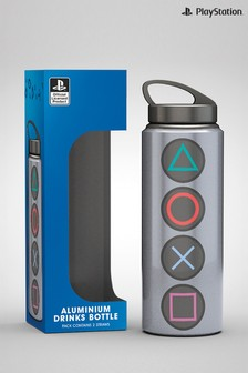 Playstation™ Buttons Aluminium Water Bottle