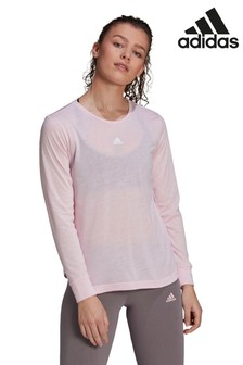 adidas Pink You For You Long Sleeve T-Shirt
