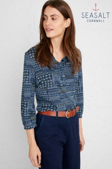 Seasalt Blue Day Mark Shirt