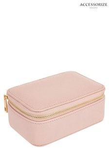 Accessorize Pink Jewellery Box