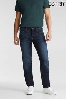 Esprit Blue Straight Denim Jeans