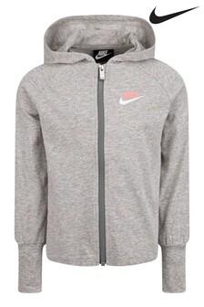 Nike Little Kids Zip Through Hoodie