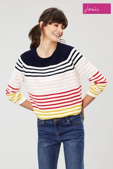 Joules Blue Seaport Stripe Jumper