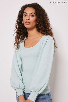 Mint Velvet Mint Volume Sleeve Jumper