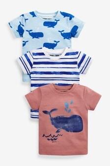 3 Pack T-Shirts (3mths-7yrs)