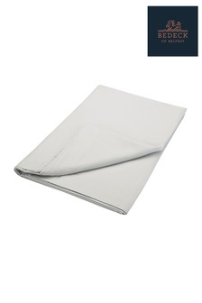 Bedeck of Belfast Plain Dye Cotton Percale Flat Sheet