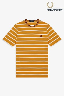 Fred Perry Stripe Pique T-Shirt