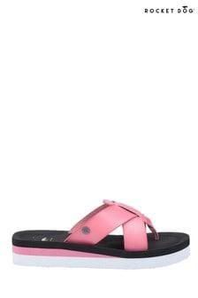 Rocket Dog Pink Wilmer Burn Slip-On Sandals