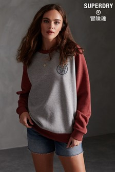 Superdry Workwear Stamp Raglan Crew Sweatshirt