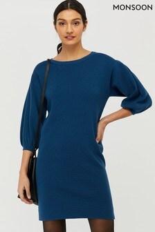 Monsoon Blue Jenna Dress