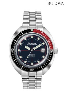 Bulova Oceanographer Blue/Red Bracelet Watch
