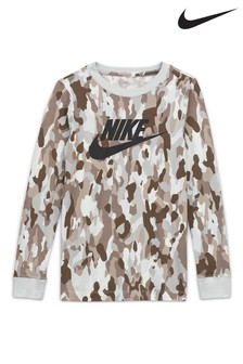 Nike Camo Long Sleeve T-Shirt