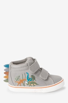 Rainbow Dinosaur Spike Boots (Younger)