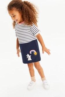 Rainbow Harbour Dress (3mths-7yrs)