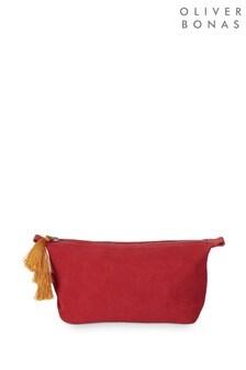 Oliver Bonas Tassel Detail Make Up Bag