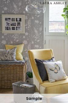 Laura Ashley Dragonfly Garden Wallpaper Sample