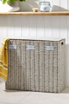Woven Laundry Sorter Hamper