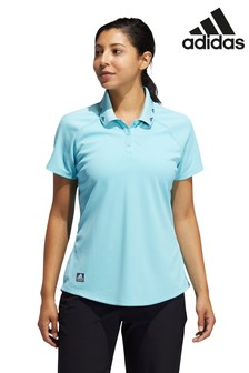 adidas Blue Golf Equipment Poloshirt