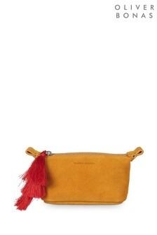 Oliver Bonas Tassel Detail Mini Make Up Bag