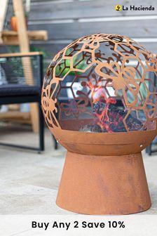 Oxidised Bee Fire Globe by La Hacienda